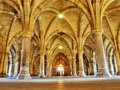 Cloister Royalty Free Stock Photo