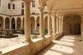 Cloister.Church of St. Francis and Monastery.Zadar. Croatia Royalty Free Stock Photo