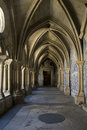 Cloister gallery Se Cathedral Royalty Free Stock Photos