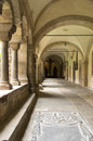 Cloister of the muenster basilica in bonn germany Royalty Free Stock Images