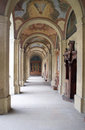 The cloister of the th century in the monastery of loreto in prague czech republic Royalty Free Stock Photography