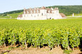 Clos Blanc De Vougeot Castle Royalty Free Stock Photos