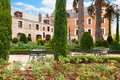 Clos de luce house of leonardo da vinci france garden in front Stock Photo