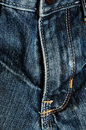 Close detail of jeans Royalty Free Stock Photo