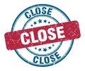close stamp