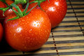 Close tomatoes up Стоковое Изображение