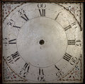 Close-up of antique clock Royalty Free Stock Photos