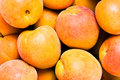 Close-up apricot background Royalty Free Stock Photo