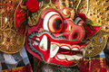 Close Up Balinese Barong Royalty Free Stock Photo