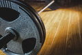 Close up of barbell Royalty Free Stock Photo