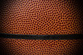 Close up of basketball ball Royalty Free Stock Photo