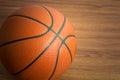 Close up Basketball Royalty Free Stock Photo