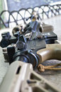 Close up a BB Gun. Royalty Free Stock Photos