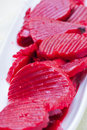 Close up of beet Stock Images