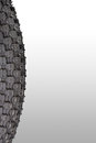 Close up of the bicycle tire Royalty Free Stock Photo