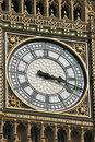 Close-up of Big Ben Stock Photography