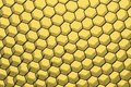 Close up of black net yellow light whole background Royalty Free Stock Photo