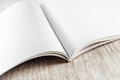 Close-up of blank book Royalty Free Stock Photo