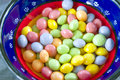 Close up on a Bowl of Candy Royalty Free Stock Photos