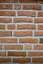 Close-up of a brick wall Royalty Free Stock Photos
