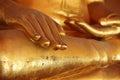 Close-up of Buddha statue Royalty Free Stock Photos
