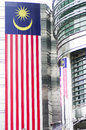 Close up building petronas Malaysia Royalty Free Stock Photos