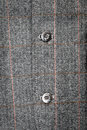 Close up of the buttons of a formal men s suit jacket Stock Image