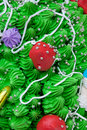 Close-up cake decorations Royalty Free Stock Photo