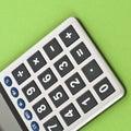 Close Up Of A Calculator