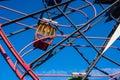 Close up California Adventure Mickey`s Fun Wheel Royalty Free Stock Photo