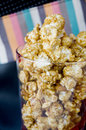 Close up caramel popcorn Royalty Free Stock Photos