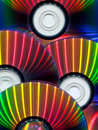 Close-up of CDs Royalty Free Stock Photo
