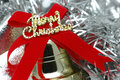 Close up of christmas bell Royalty Free Stock Photography