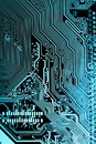 Close up of Circuits Electronic on Mainboard Technology computer background logic board, cpu motherboard, Main board, sys