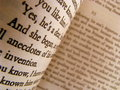 Close-up of a Classic Novel Royalty Free Stock Photo