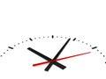 Close Up Clock Royalty Free Stock Photo