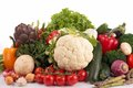 Close up collection raw vegetables Stock Photos