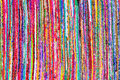 Close Up Colorful Hand Woven R...