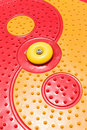 Close up of colorful playground for children Stock Image