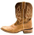Close-up of cowboy boot Stock Images