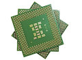 Close up of CPU processors (front view) Stock Images