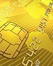 Close up of a Credit Card Royalty Free Stock Image