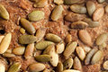 Close up of crust of the rye bread Royalty Free Stock Photo