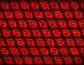 Close up of dark red colored wool textile Royalty Free Stock Photo