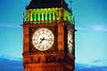 Close up de big ben Imagem de Stock