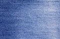 Close up  denim  blue jeans surface texture background Royalty Free Stock Photo