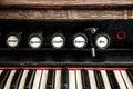 Close Up Detail of Church Organ Royalty Free Stock Photo