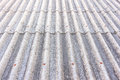Close up detail of old roof tiles texture grey Royalty Free Stock Images