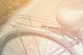 Close up detail of vintage bike Royalty Free Stock Photo