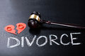 Close-up Of Divorce Concept Royalty Free Stock Photo